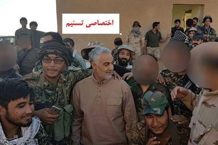 İranlı General Süleymani bu kez sınırın Suriye hattında