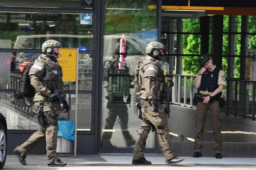 Münih'te çatışma: Bir polis yaralandı