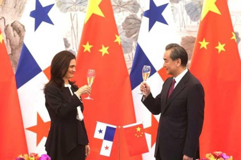 Çin'le anlaşan Panama, Tayvan'la ilişkisini kesti