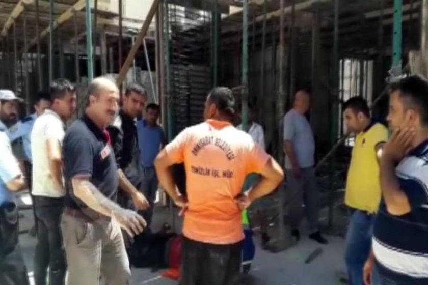 Maraş'ta inşaatta göçük:3 yaralı