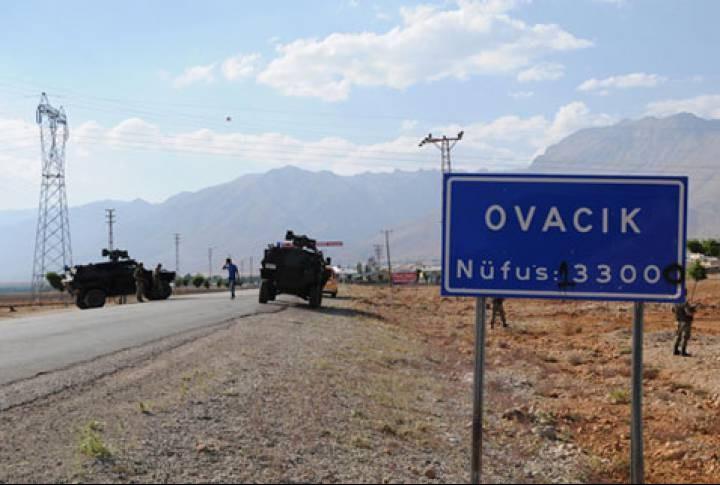 Dersim'de 3 ilçenin yolu trafiğe kapatıldı
