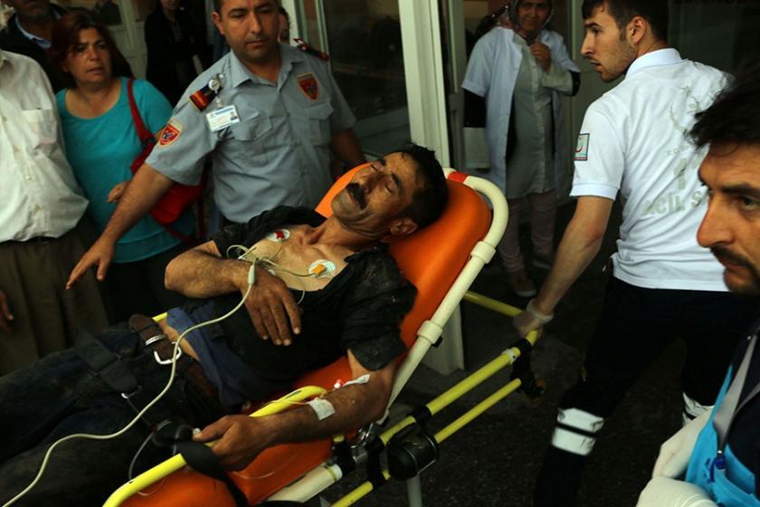 Tarlaya yıldırım düştü: 2 ölü, 5 yaralı
