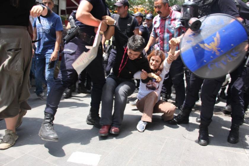 Yüksel eylemine 218. gününde yine polis saldırısı