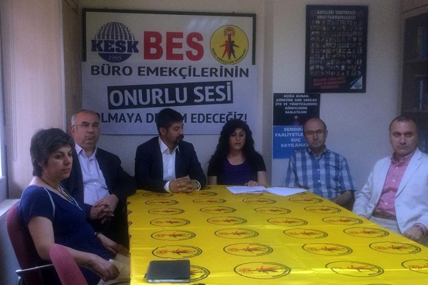 BES: İş güvencesi için ortak mücadeleyi yükselteceğiz