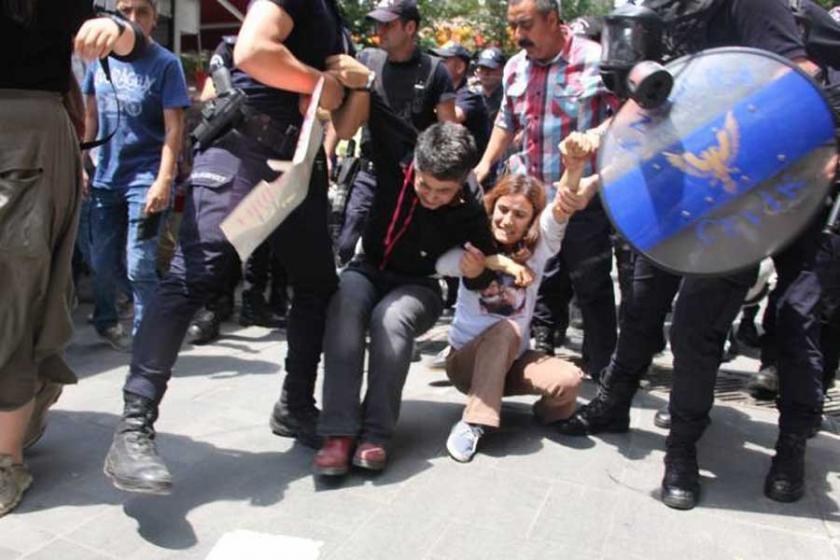 Yüksel'de polis bir kez daha saldırdı
