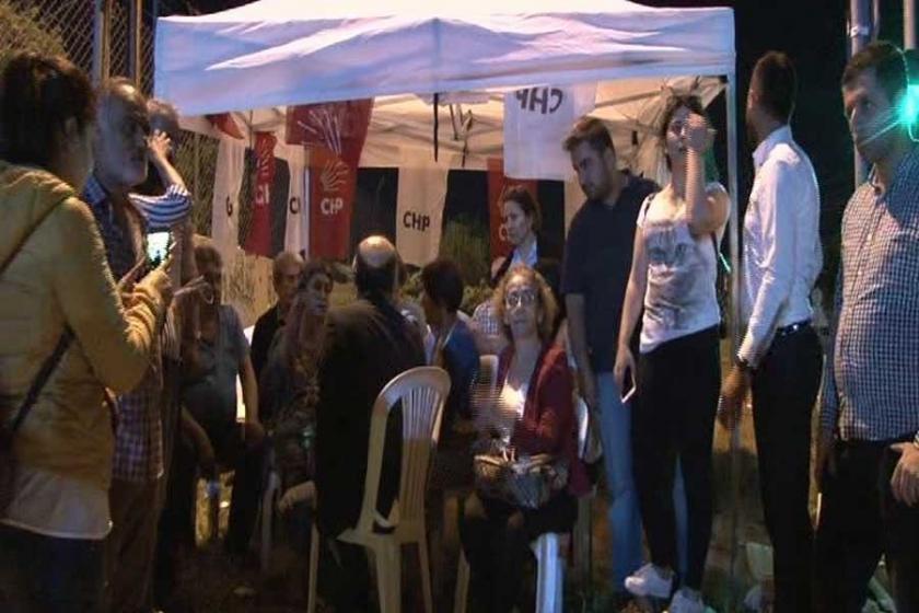 CHP'lilerden Berberoğlu'na destek nöbeti