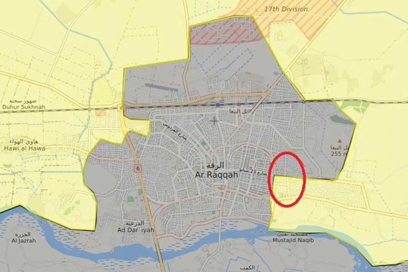 Rakka operasyonu: SDG, IŞİD'i Sina'dan çıkardı