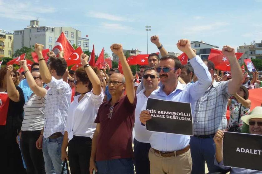 Didim'de 'Adalet' ve 'Demokrasi' çağrısı