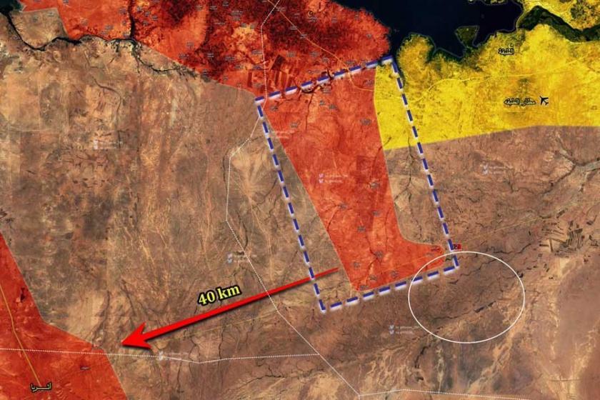 Suriye ordusu, Rakka'nın batı kırsalında ilerliyor