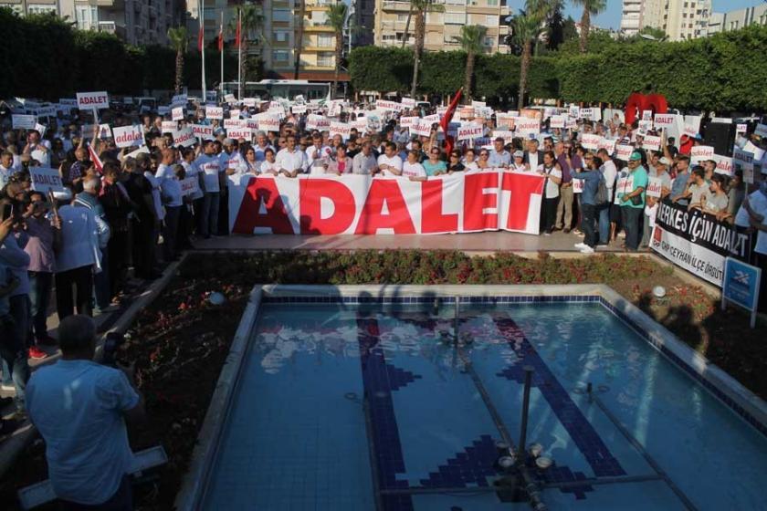Adana'da halk adalet için yürüdü