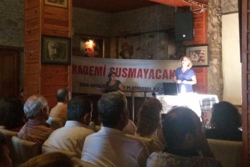 Antalya Dayanışma Akademisinde son ders şehir hastaneleriydi