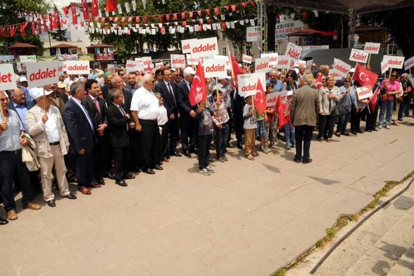 Adalet Yürüyüşü'ne Tokat'tan destek