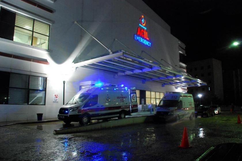 Kastamonu'da 8 asker hastaneye kaldırıldı