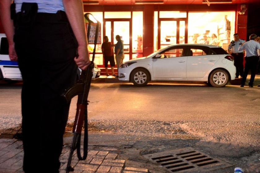 Adana'da silahlı market soygunu