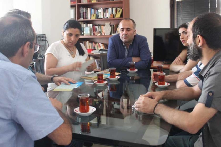 HDP İstanbul il örgütünden Evrensel'e ziyaret