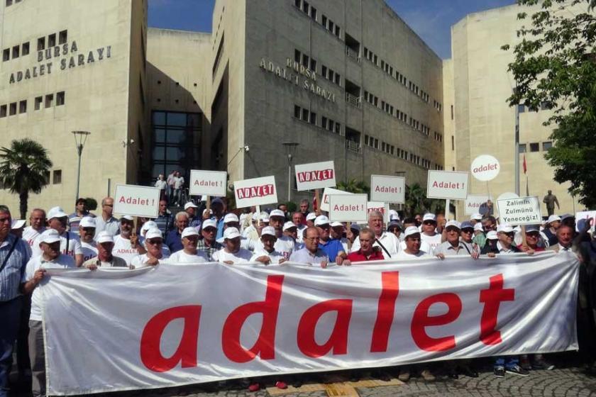 CHP'liler Bursa'da 'Adalet Yürüyüşü' başlattı