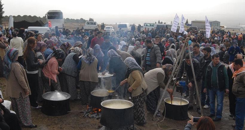 Akalan köylülerinin taş ocağına karşı direnişi sürüyor