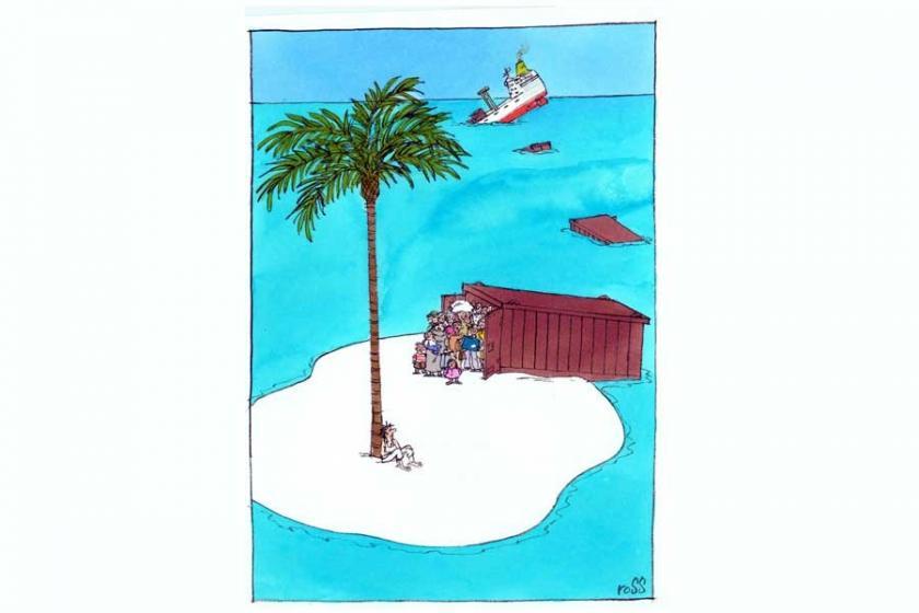 Karikatür Ödülü Thomson'un