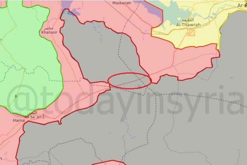 Suriye ordusu, Itriye-Rakka yolunda operasyon başlattı