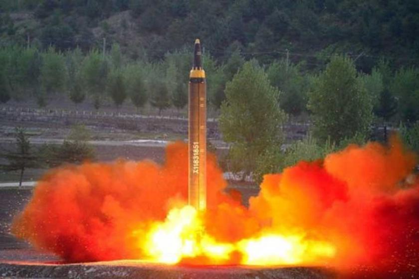 Kuzey Kore'den Japon sularına balistik füze