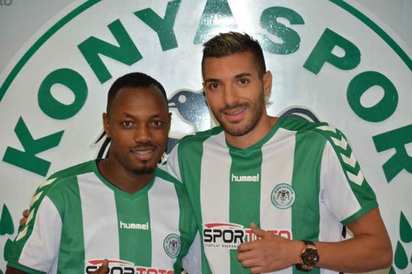 Konyaspor, Bourabia ve Traore'yi renklerine bağladı