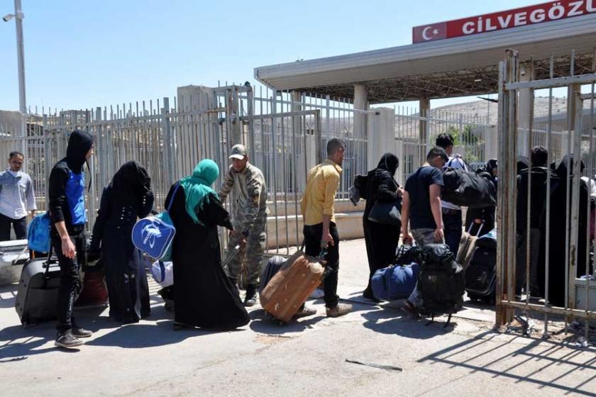 Bayram için Suriye'ye geçenlerin sayısı 118 bini aştı
