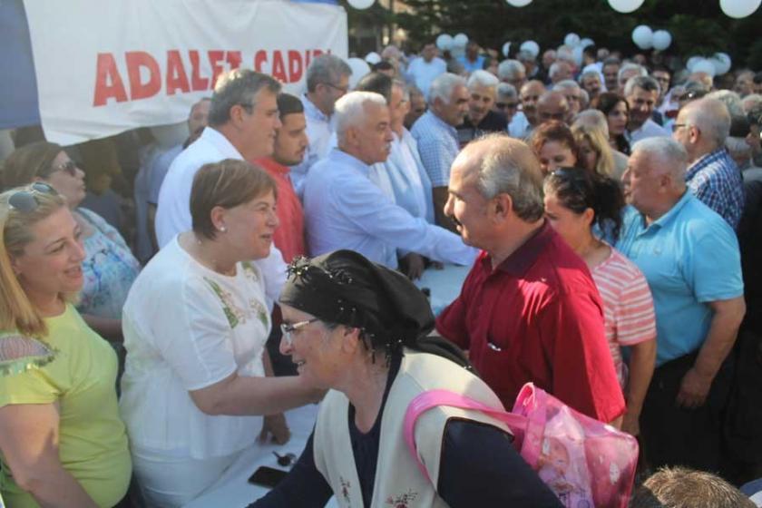 Adana Alevi Platformu Adalet Çadırı'nı ziyaret etti