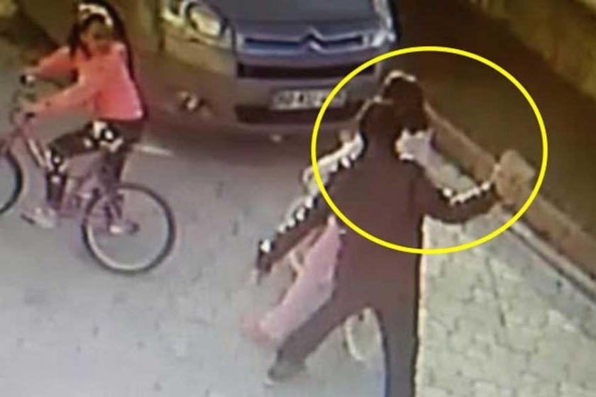 Çocuğa taşla vurdu, kadını taciz etti ama serbest kaldı