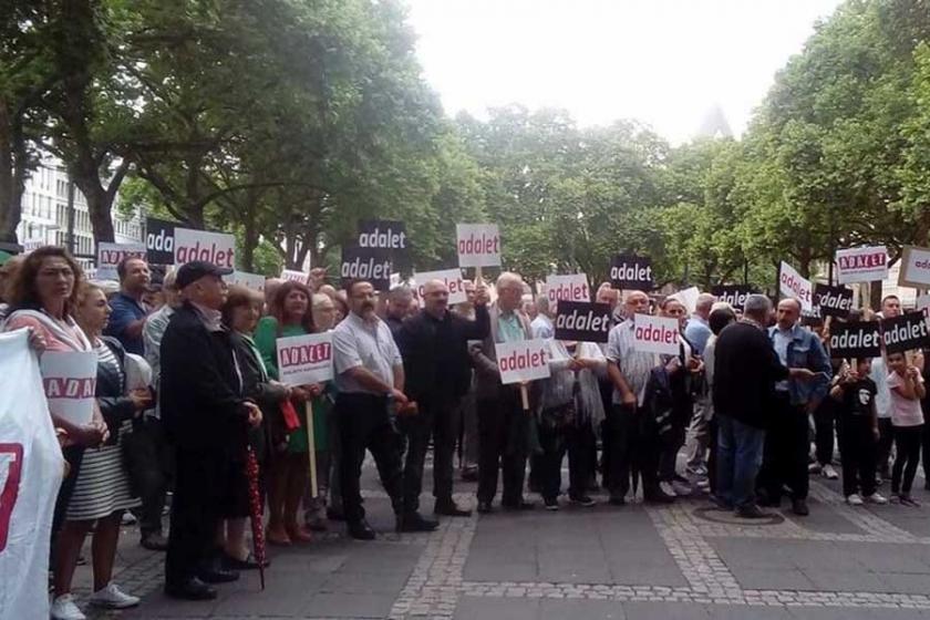 Köln'de adalet eylemi