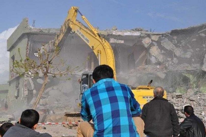 Sur'dan sonra Silopi'de de yıkıma onay