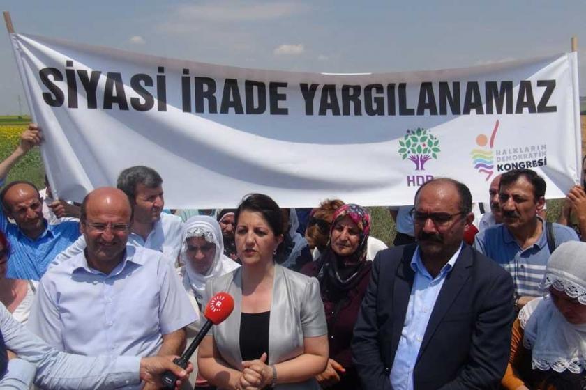 'HDP'liler cezaevindeyken hukuktan söz etmek mümkün değil'