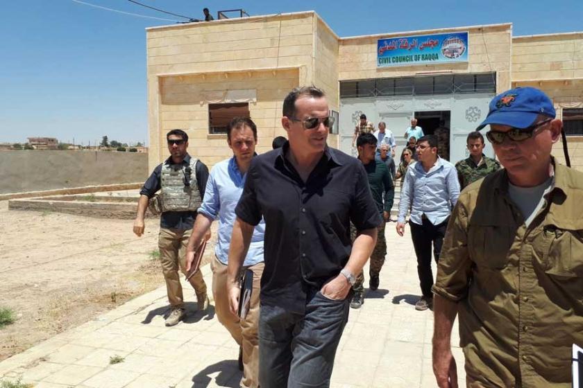 ABD Başkanı Trump'ın IŞİD özel temsilcisi Rakka'da
