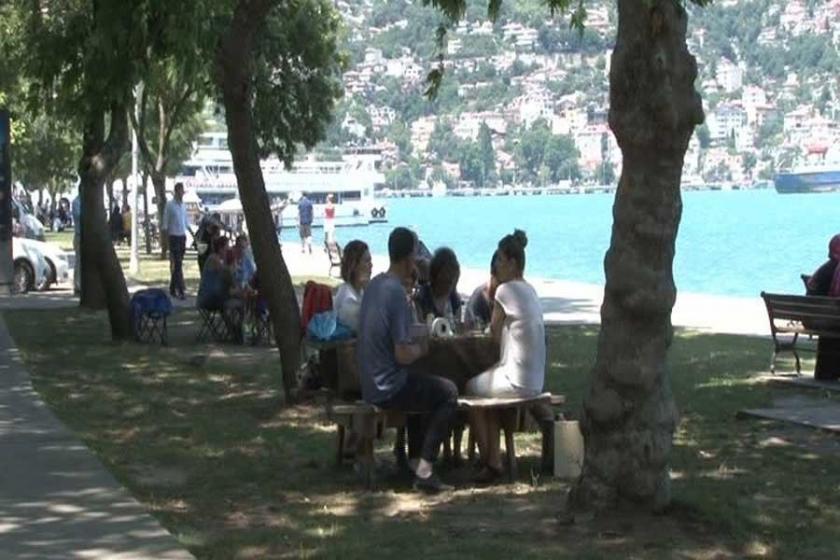 İstanbul'un en sıcak günü, en sıcak yer Kadıköy