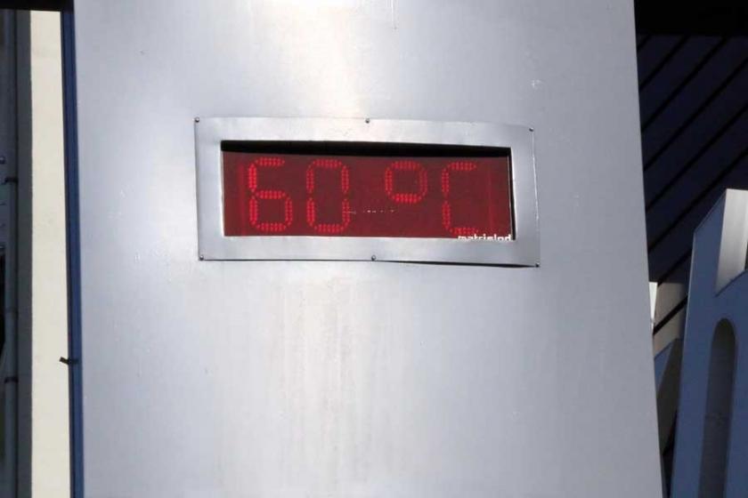 Bu ne sıcak! Urfa Siverek'te termometre 60'ı gördü