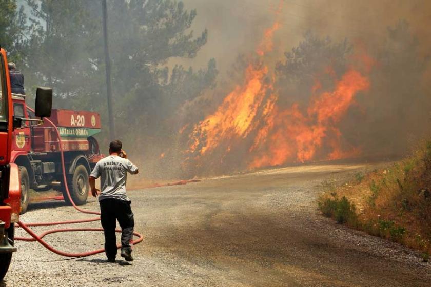 Alanya'daki orman yangını kontrol altına alındı