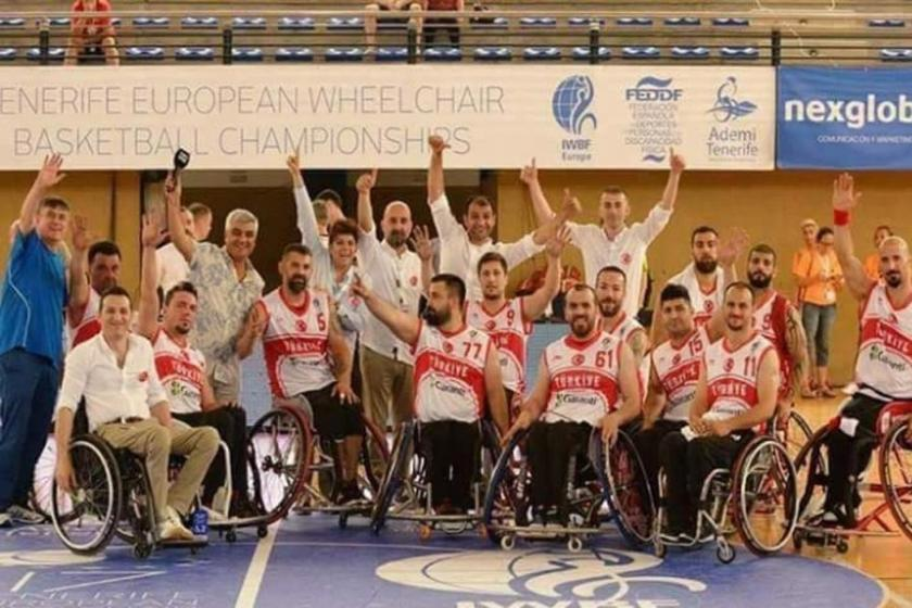 Tekerlekli Sandalye Basketbol takımı Avrupa şampiyonu oldu