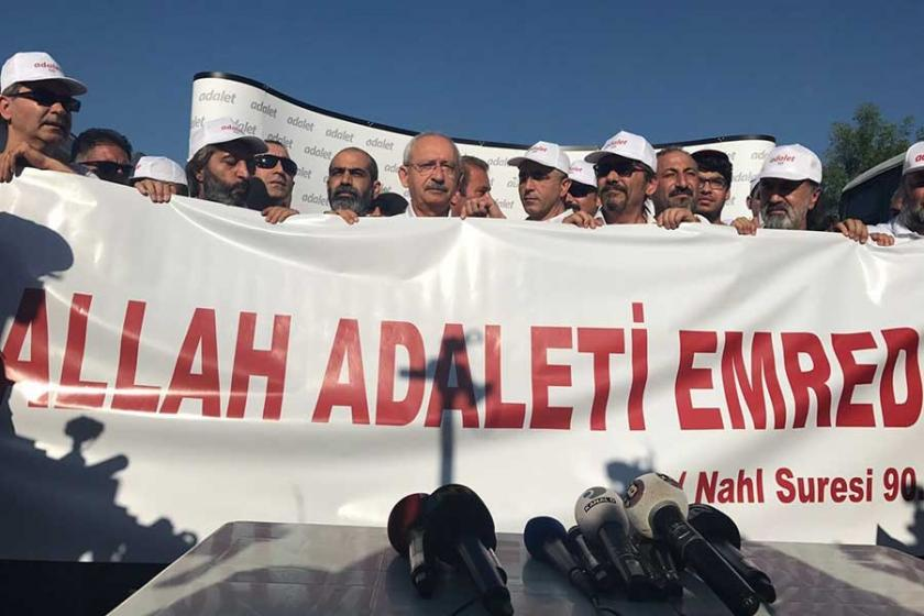 Adalet Yürüyüşü'nde 17'nci gün