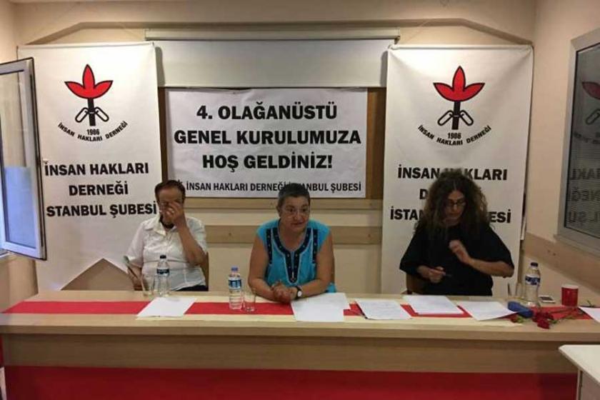 İHD İstanbul Şubesi yeni yönetimini belirledi
