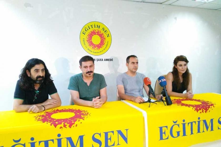 Eğitim Sen Diyarbakır şubelerinden Sur'un yıkılmasına tepki!