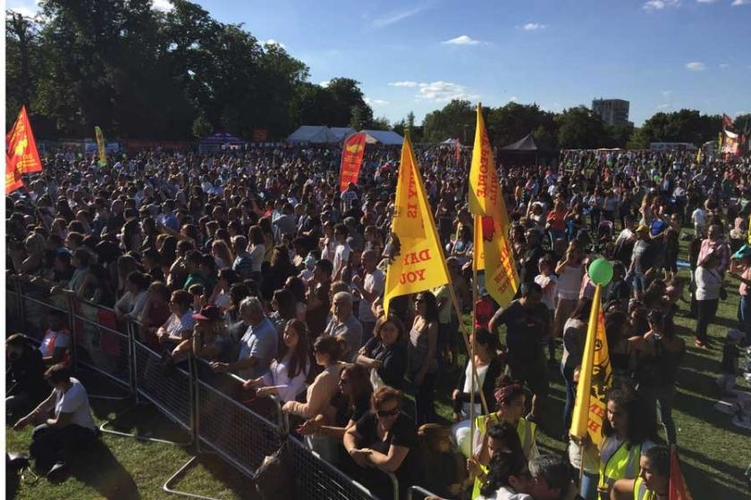 DAY-MER Festivali'nde binler adalet istedi