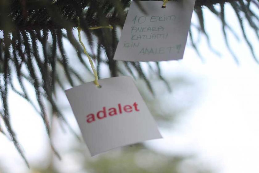Adalet talebi ağaçla buluştu