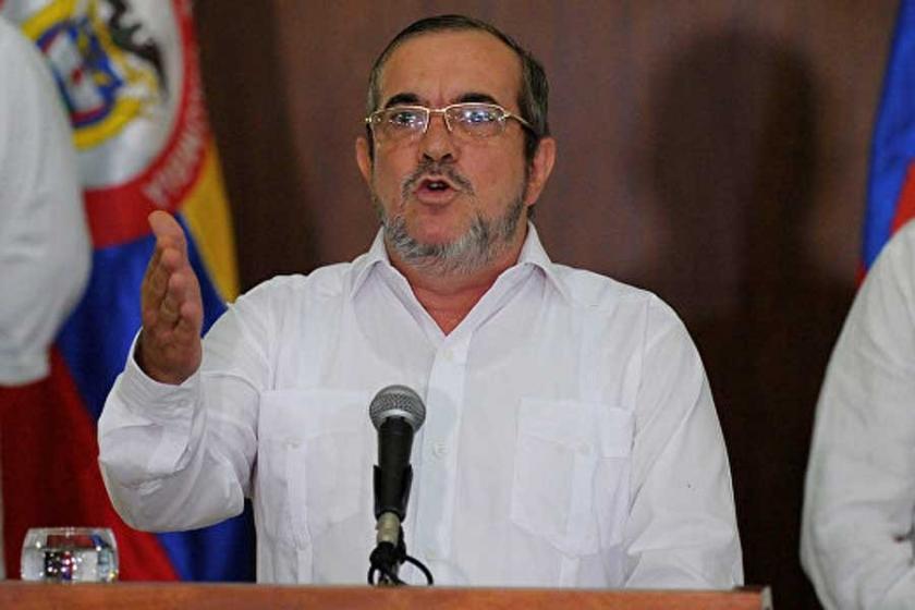 FARC lideri hastaneye kaldırıldı