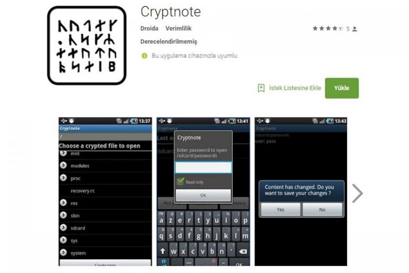 'FETÖ'nün yeni mesaj uygulaması' denilen Cryptnote nedir?