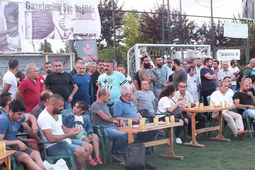 9. Metin Göktepe futbol turnuvası başladı