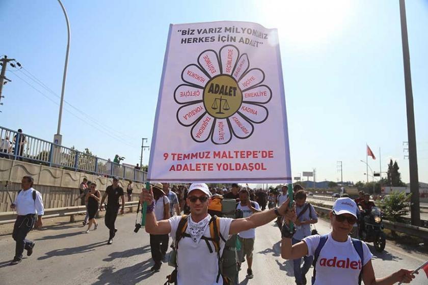 Adalet Mitingi'ne emek ve demokrasi güçlerinden çağrı