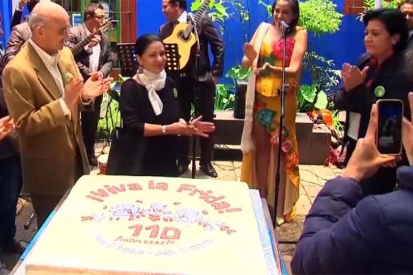 Frida Kahlo'nun doğum günü kutlandı