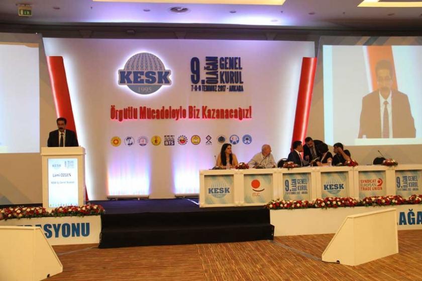KESK'in yeni yönetimi belirlendi