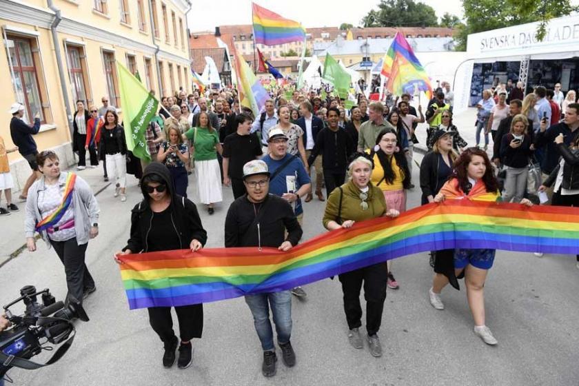 İsveç'te Politikacılar Haftası'da Naziler protesto edildi