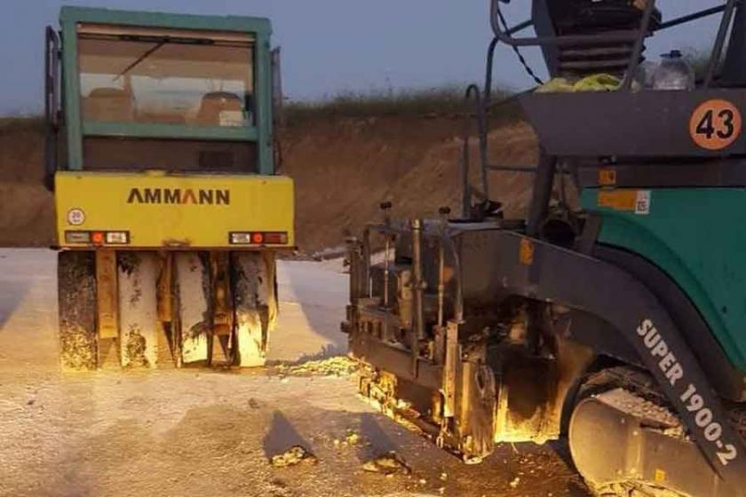 Çorlu'da iş makinesinin çarptığı operatör yaşamını yitirdi