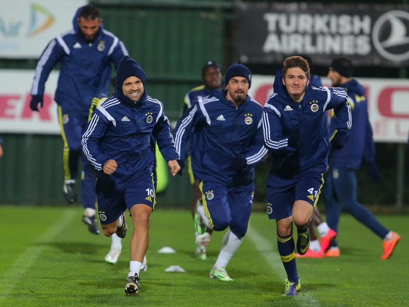 Fenerbahçe, Beşiktaş maçının hazırlıklarını tamamlandı